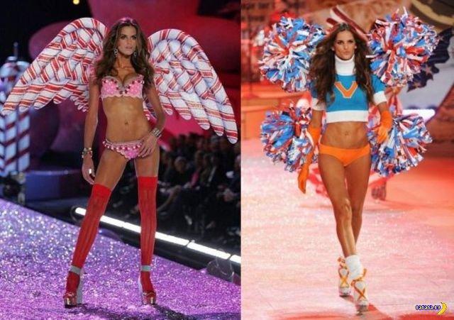 Эволюция ангелов Victoria's Secret