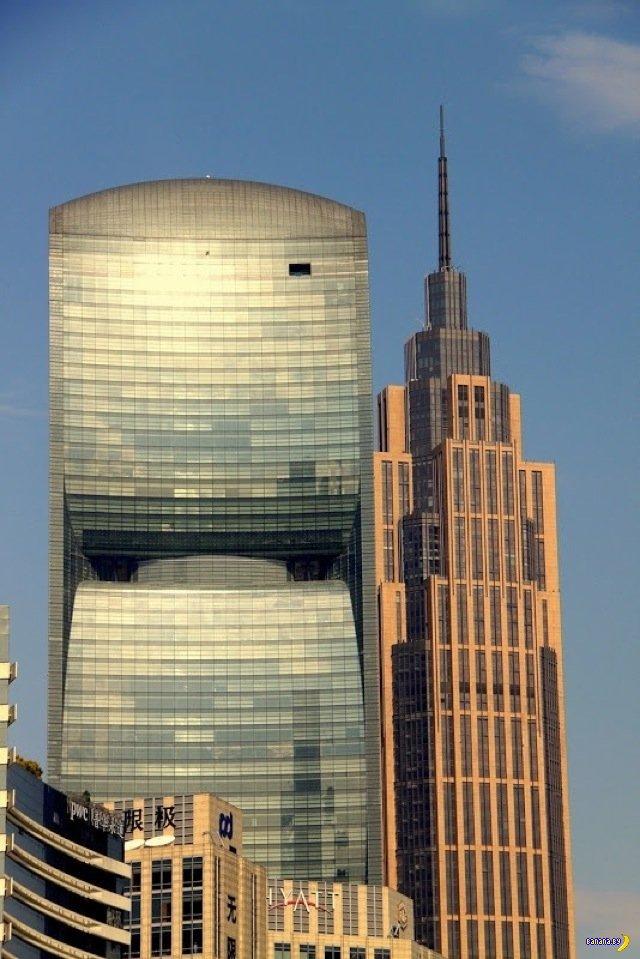 Pearl River Tower - энергоэффективный небоскреб в Китае