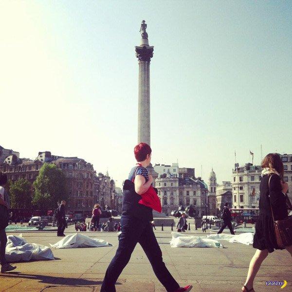 Белорусы проводят в Лондоне флэшмоб против смертной казни