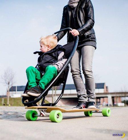 Скейт для папаш и мамаш