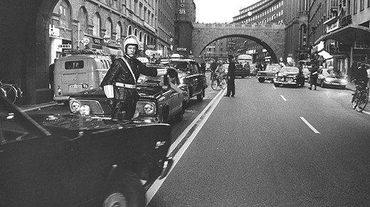 """""""Dagen H"""" в Швеции (1967 г.)"""