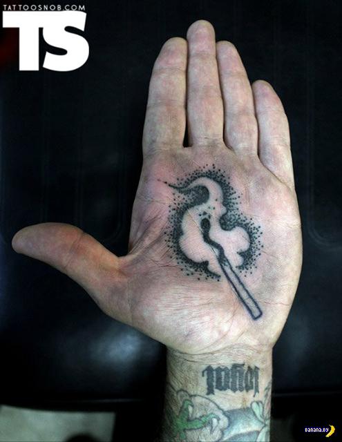 Татуировки на ладошках
