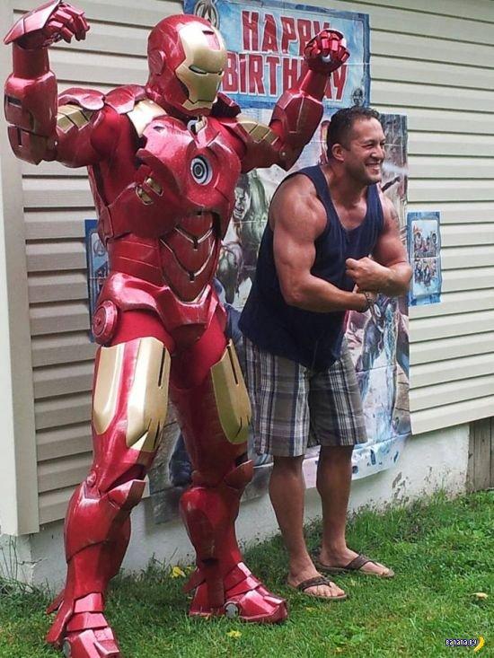 Костюм Железного Человека своими руками