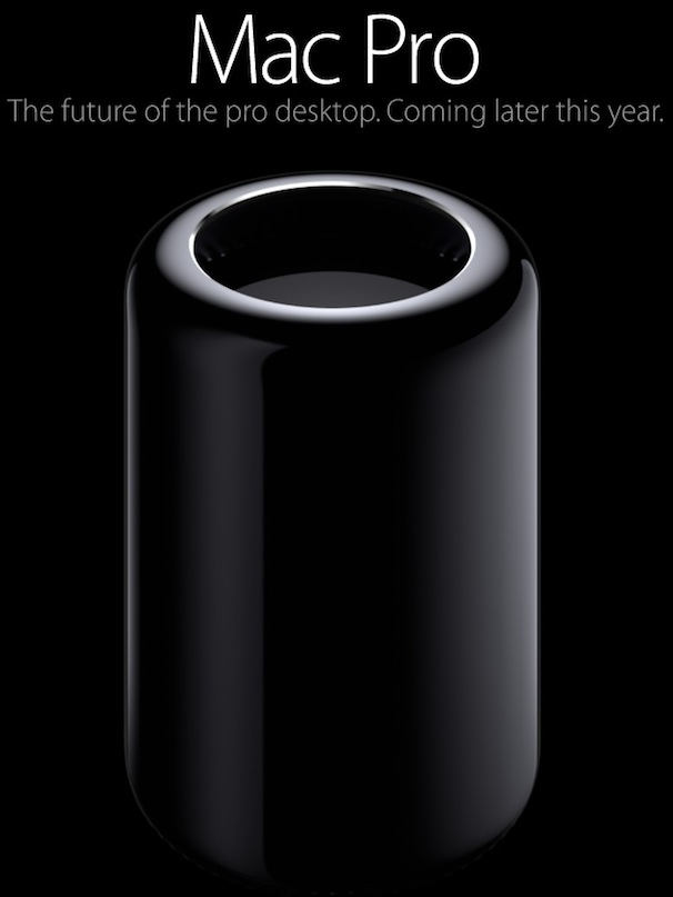 Mac Pro — революционный цилиндрический компьютер Apple для профессионалов