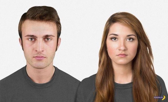 Генетик предсказал, как лица людей будут выглядеть в будущем