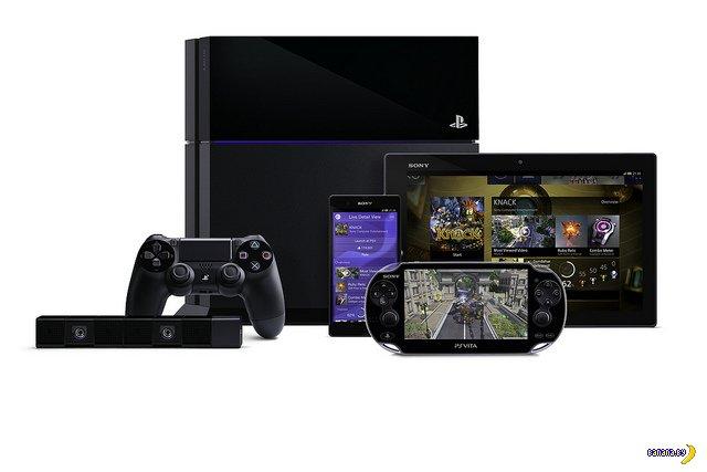 Sony показывает PS4