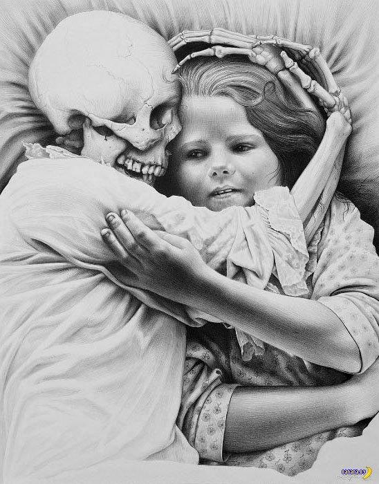 Смерть в работах Лори Липтон