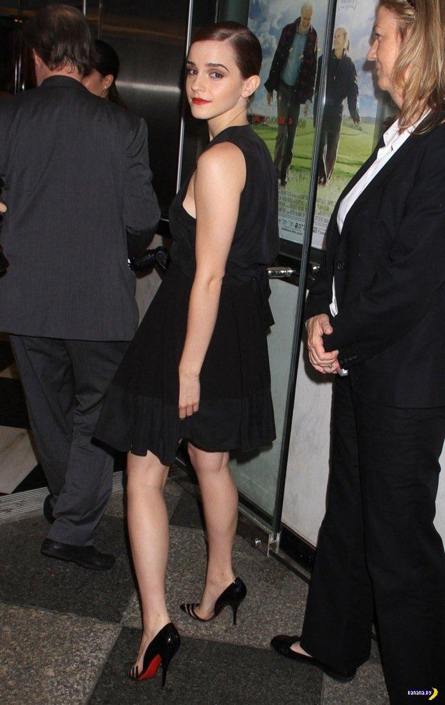 Эмма Уотсон на премьере