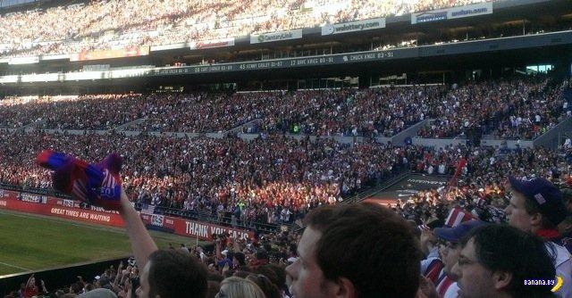 Америка возмущена футболом