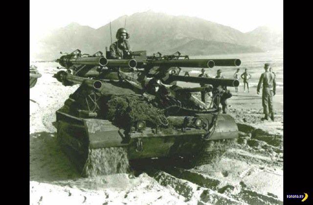 M50 Ontos - убийца танков из прошлого