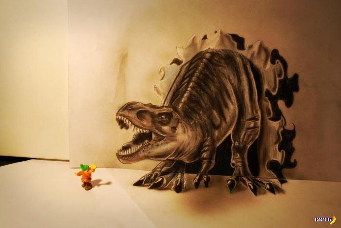 Рисунки в 3D