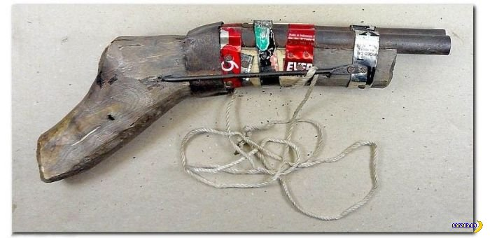 Самодельное оружие из подпольных мастерских www.krasfun.ru