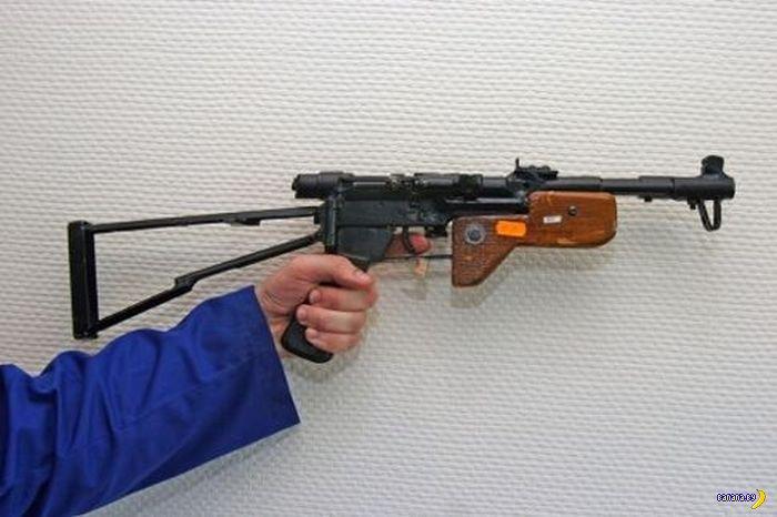 """Самодельное оружие, сделанное в подпольных мастерских """" кококо.ру"""