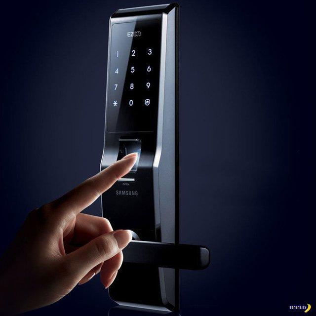 Навороченный дверной замок от Samsung