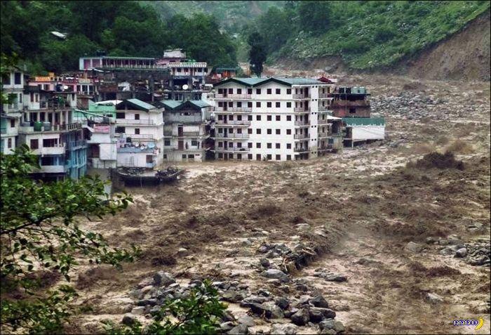 Наводнение в Индии