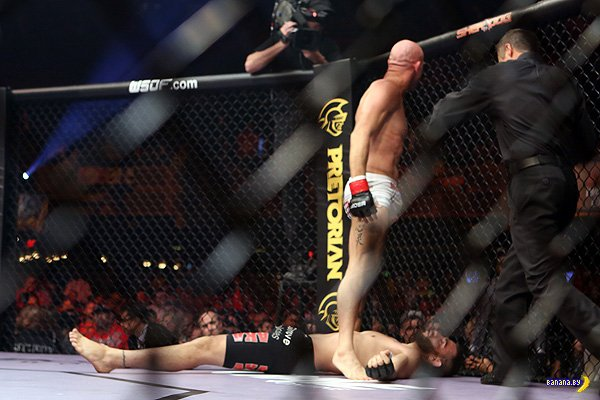 Кровь, пот и боль MMA