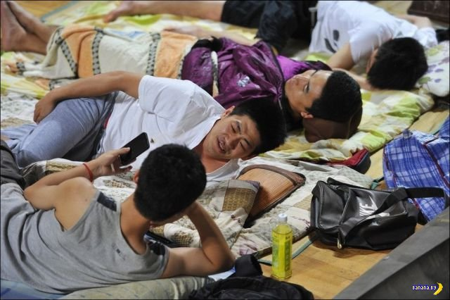 Как китайцы спасаются от жары