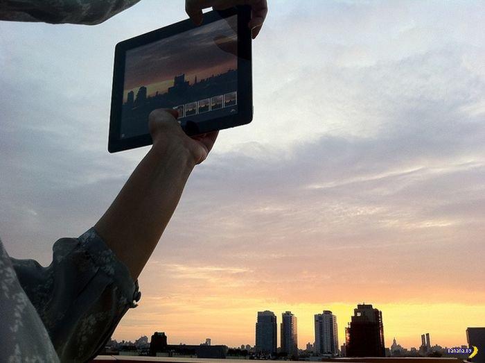 Снимать фото планшетами