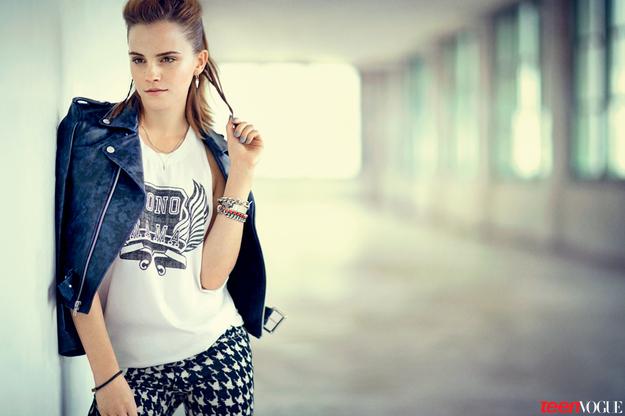 Эмма Уотсон в Teen Vogue