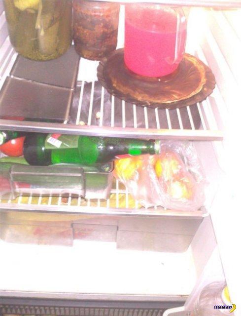 Неожиданная находка в холодильнике