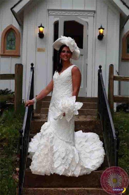 Удивительные свадебные платья