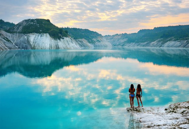 Меловые карьеры для туристов
