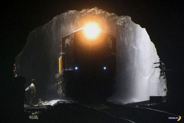 Самый красивый вид из поезда