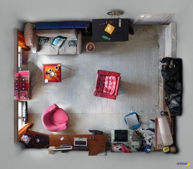 Портреты комнат