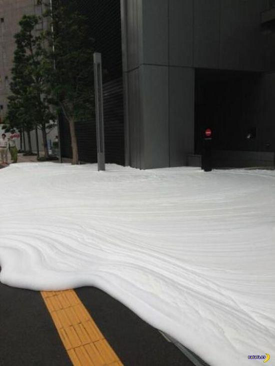 Токийская пенная атака