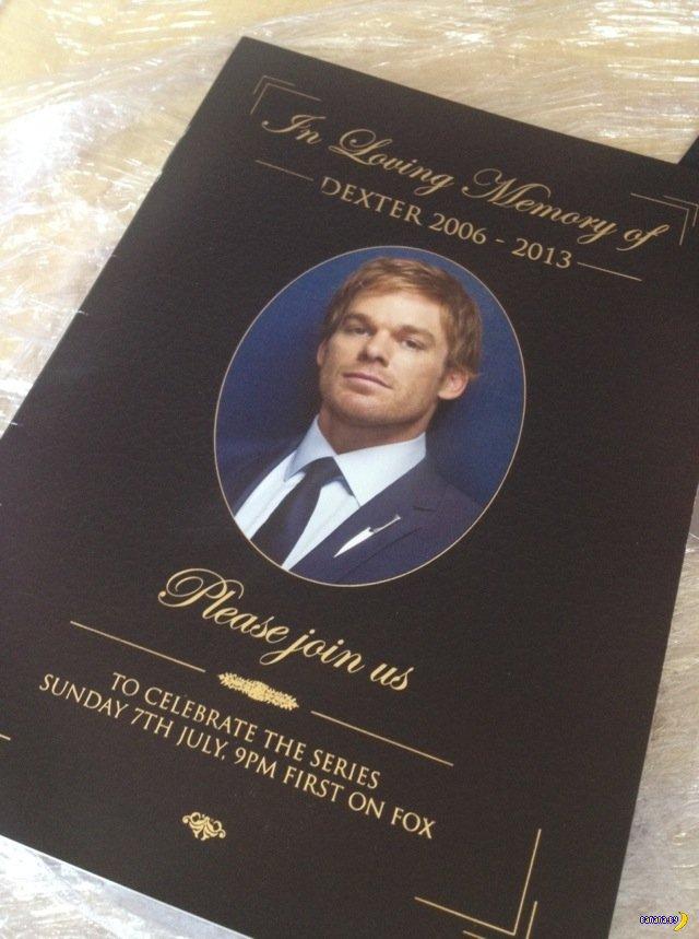 Пресс-кит последнего сезона сериала Dexter