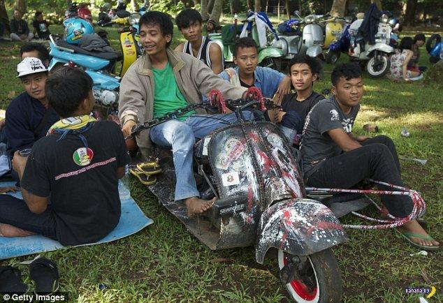 Индонезийское скутеростроение
