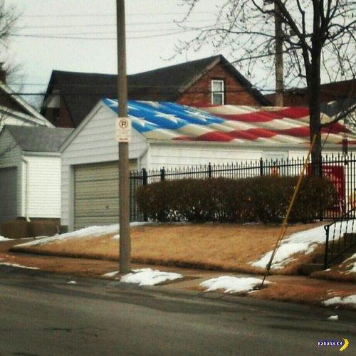 Про любовь к флагу