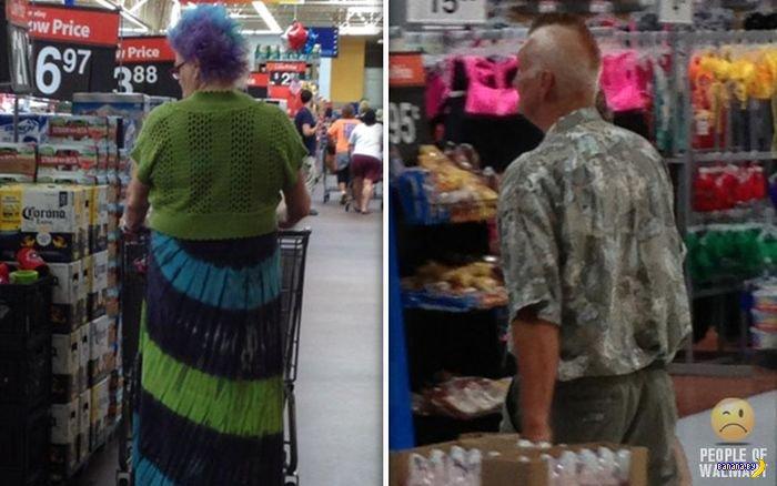 Придурки из супермаркетов США