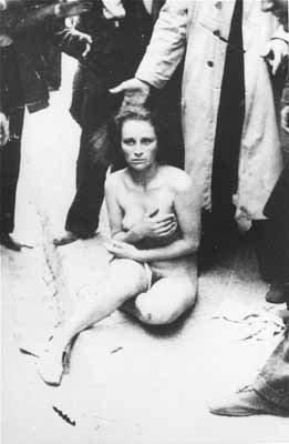 Погромы во Львове в 1941 г.: фотохроника