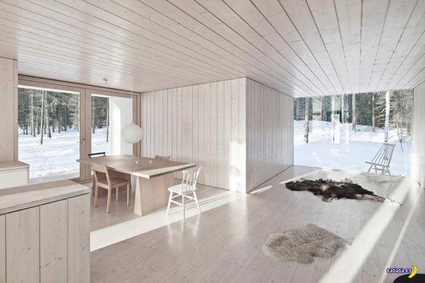 Лесной домик в Финляндии