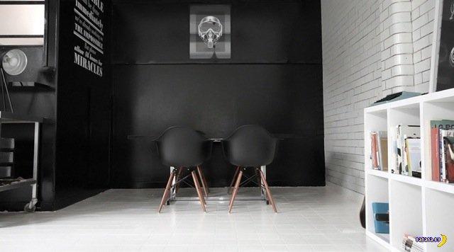 Интерьер офиса Candy Black