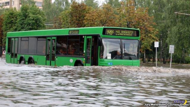 Очередной потоп в Минске: затопило даже метро (фото, видео)