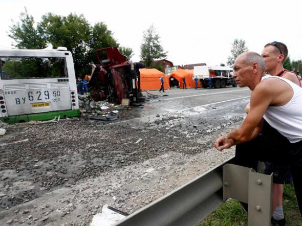Авария в Новой Москве