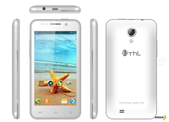 Tinydeal: смартфон THL W100