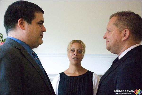 Гомельский правозащитник вступил в однополый брак