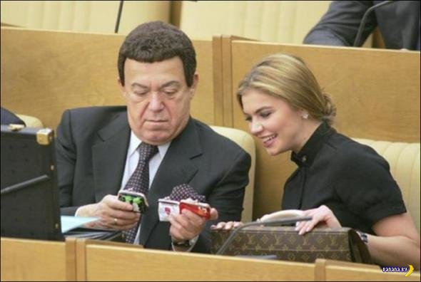 Жизнь Думы РФ