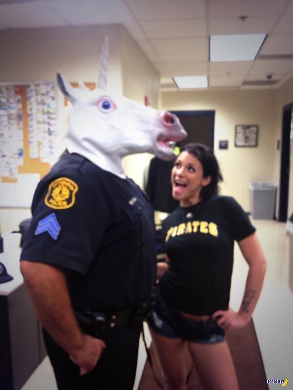 Проблемы у офицера полиции США