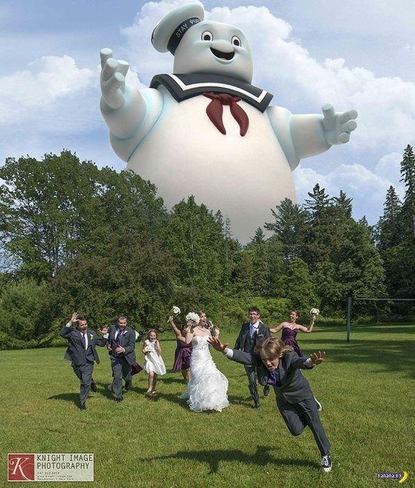 Новый тренд в свадебном фото