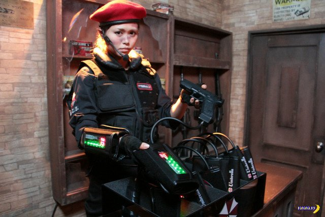 Аттракцион Resident Evil в Японии