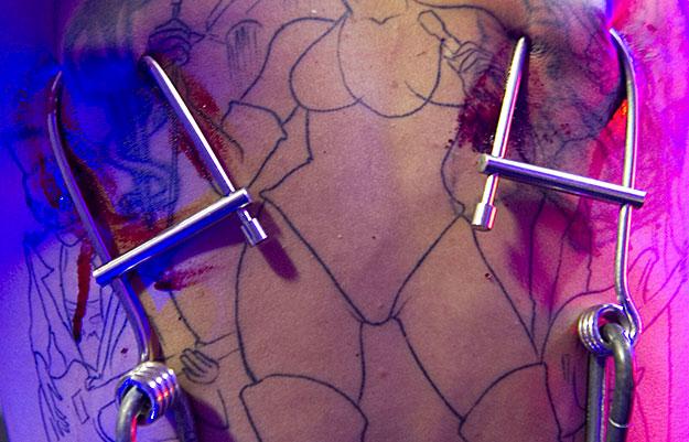 В Сан-Паулу показывали татуировки