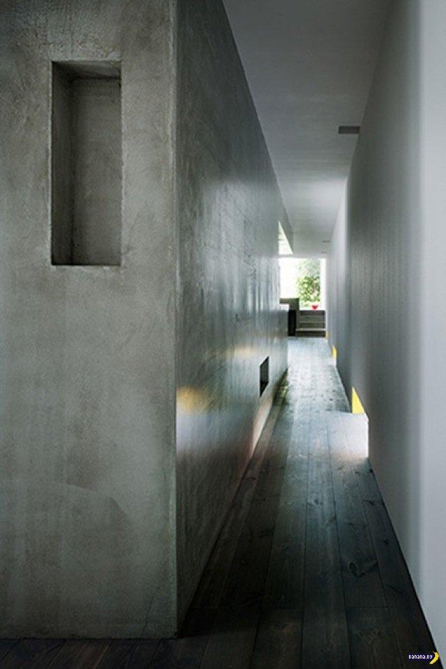 Очень узкий дом из Японии