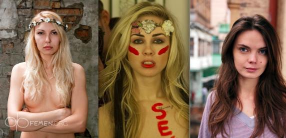 FEMEN: В Киеве похитили трех активисток движения и журналиста
