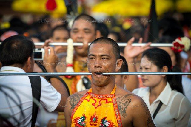 Вегетарианский фестиваль, Пхукет, Таиланд