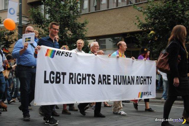 В Вильнюсе прошел гей-парад, полиция задержала более 30 борцов с пидерастами