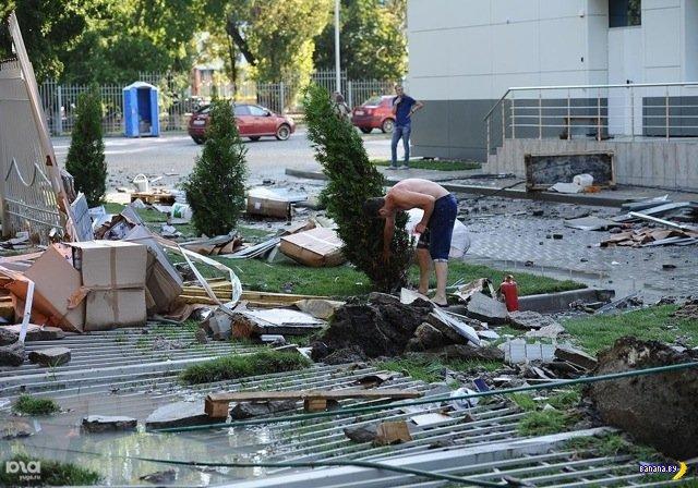 В Краснодаре развалился бассейн